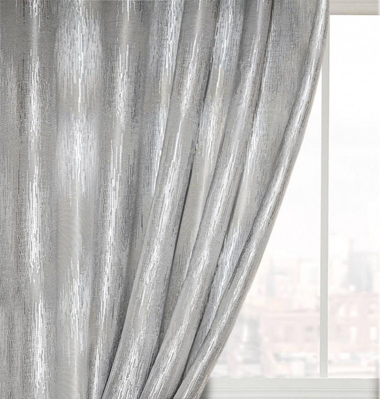 13000/8/PВ/165, цвет серый, МЕТРАЖ портьерный с тефлоновой пропиткой, ширина 1,65 м