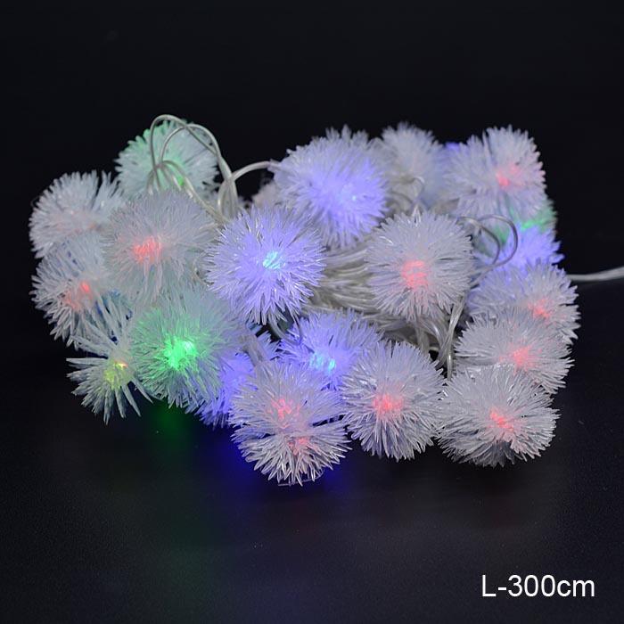 Гирлянда 3 м Снежок / 20L-3 / 20L LED /уп 100/