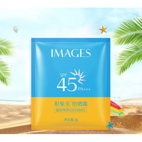 Крем солнцезащитный  Images для лица и тела SPF45 (пакетик), 3 гр
