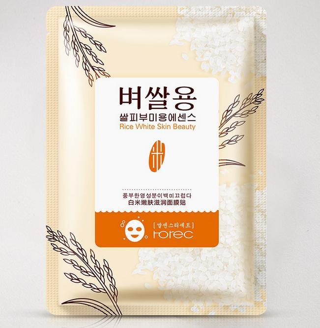 Маска с экстрактом  риса Rorec