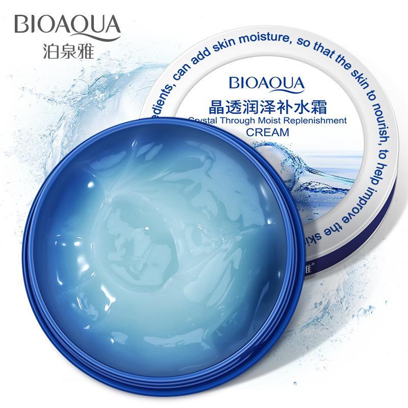 Крем-гель «BIOAQUA» для лица и тела  Crystal Through Moist Replenishment, 38гр