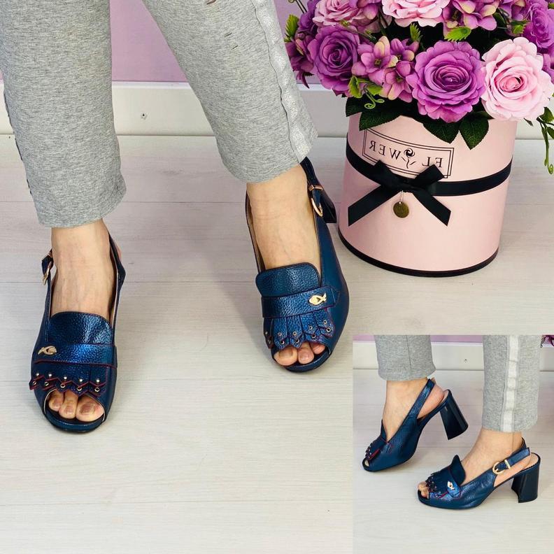 Босоножки на каблуке #20375565
