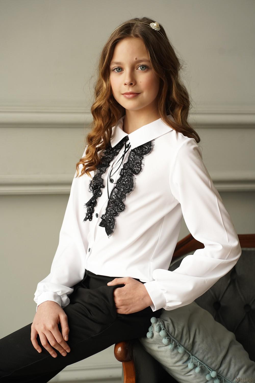 Нарядная блузка D016-136