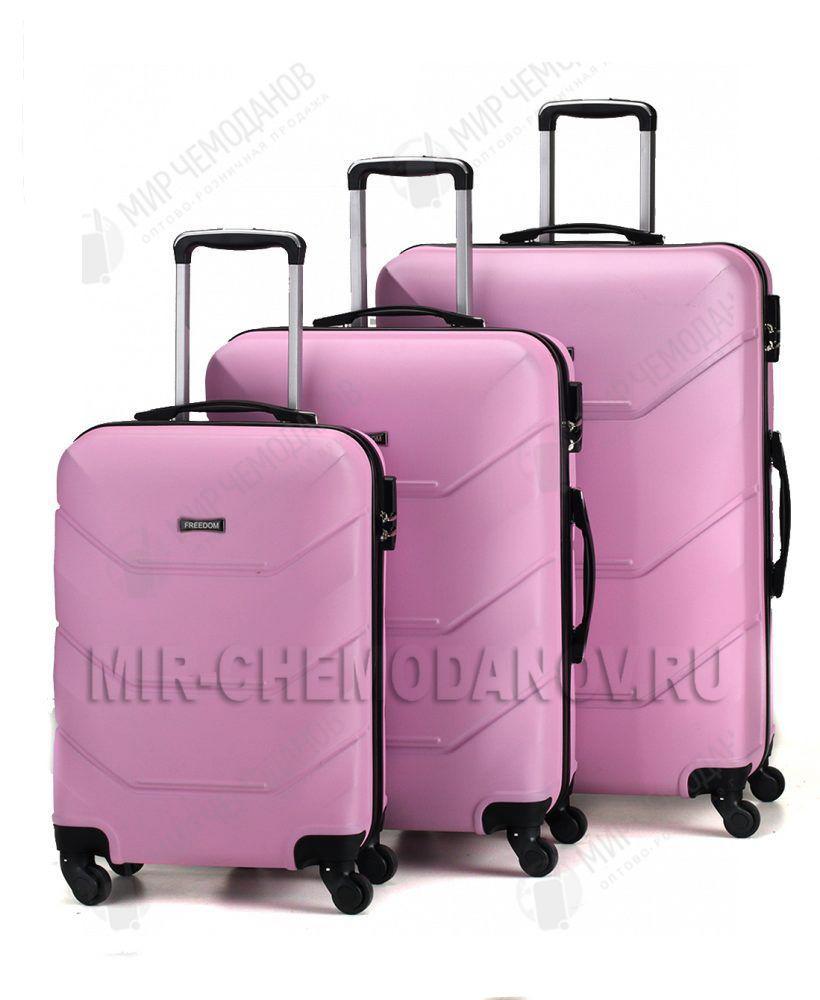 """Комплект из 3-х чемоданов """"FREEDOM"""""""