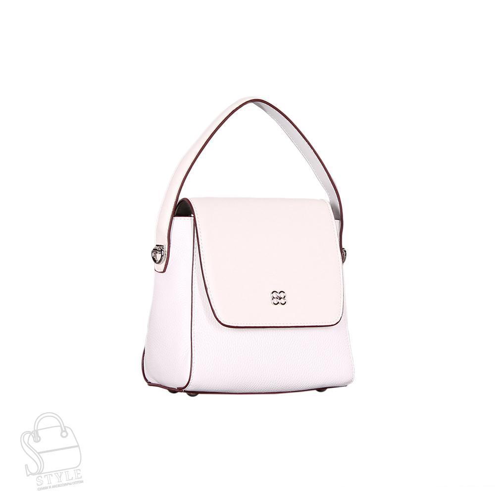 Сумка женская кожаная 66918 white S-Style/30