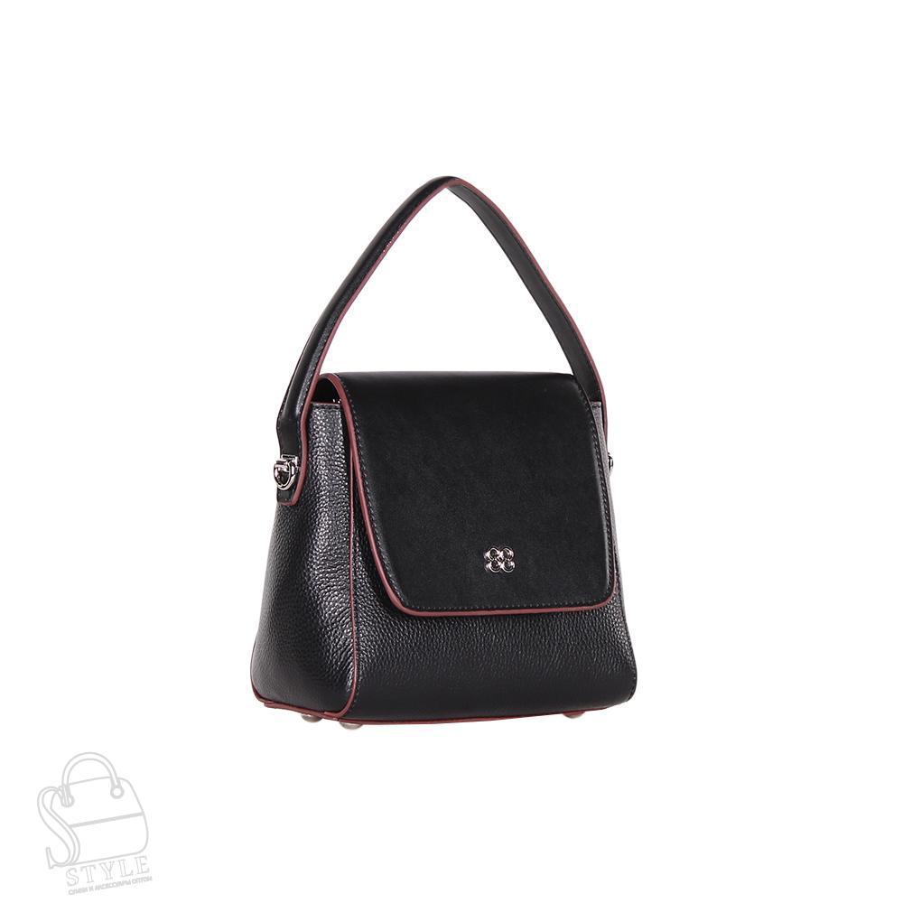 Сумка женская кожаная 66918 black S-Style/30