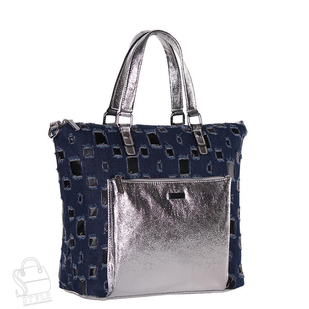 Сумка женская  571872 d.blue Velina Fabbiano/50