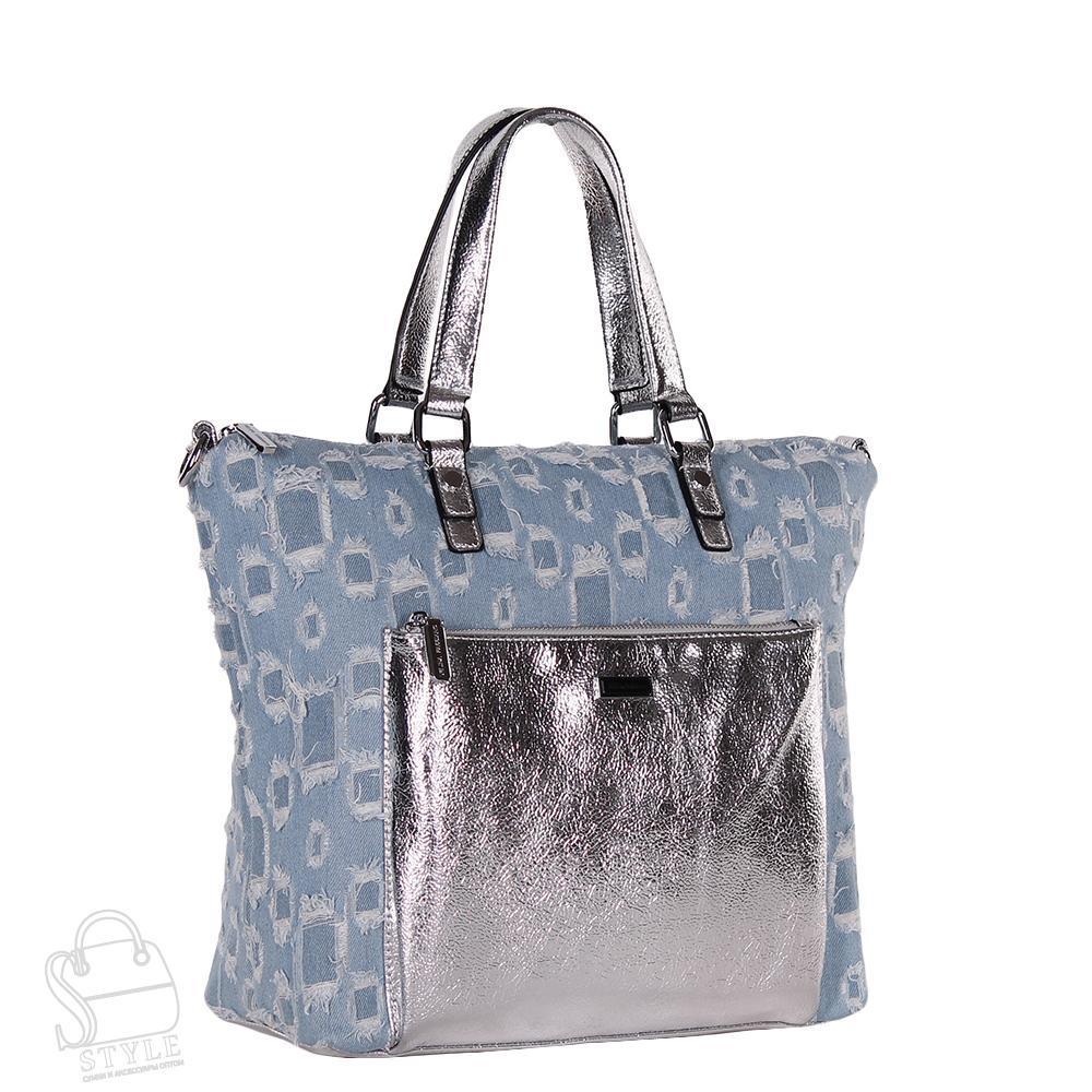 Сумка женская  571872 l.blue Velina Fabbiano/50