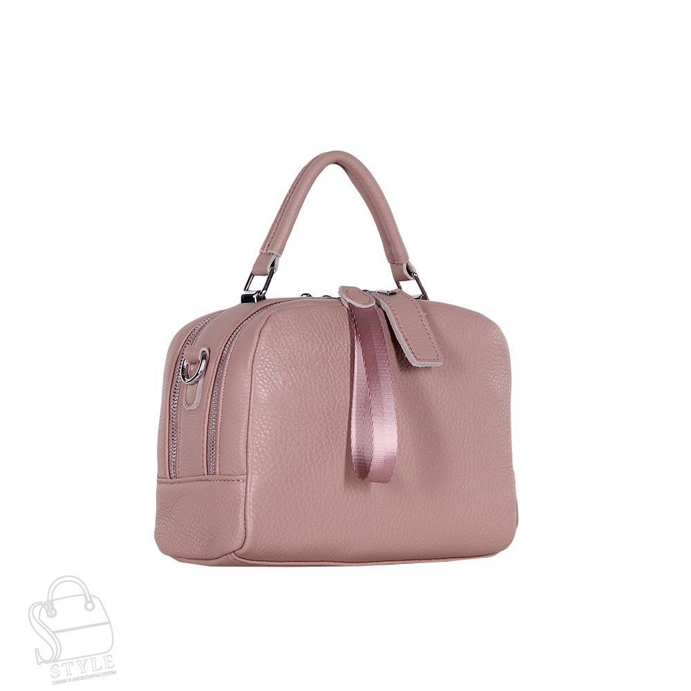 Сумка женская кожаная 8731-9 pink S-Style