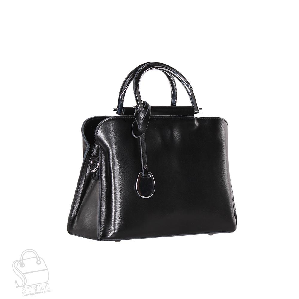 Сумка женская кожаная 8765-220 black S-Style
