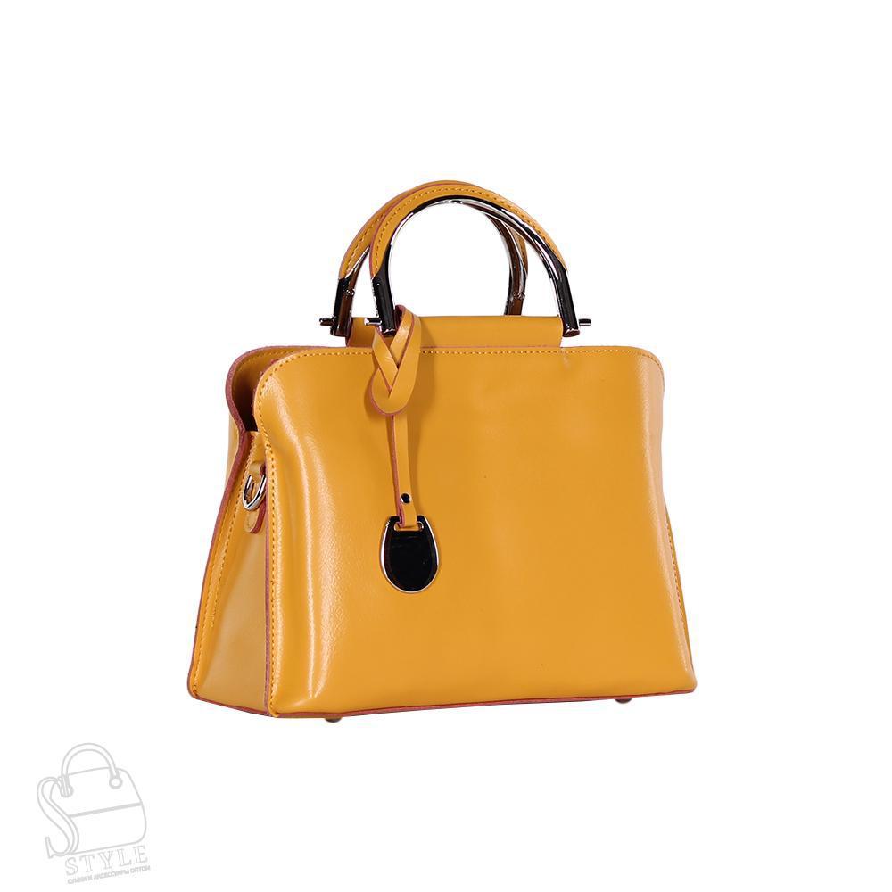 Сумка женская кожаная 8765-220 yellow S-Style
